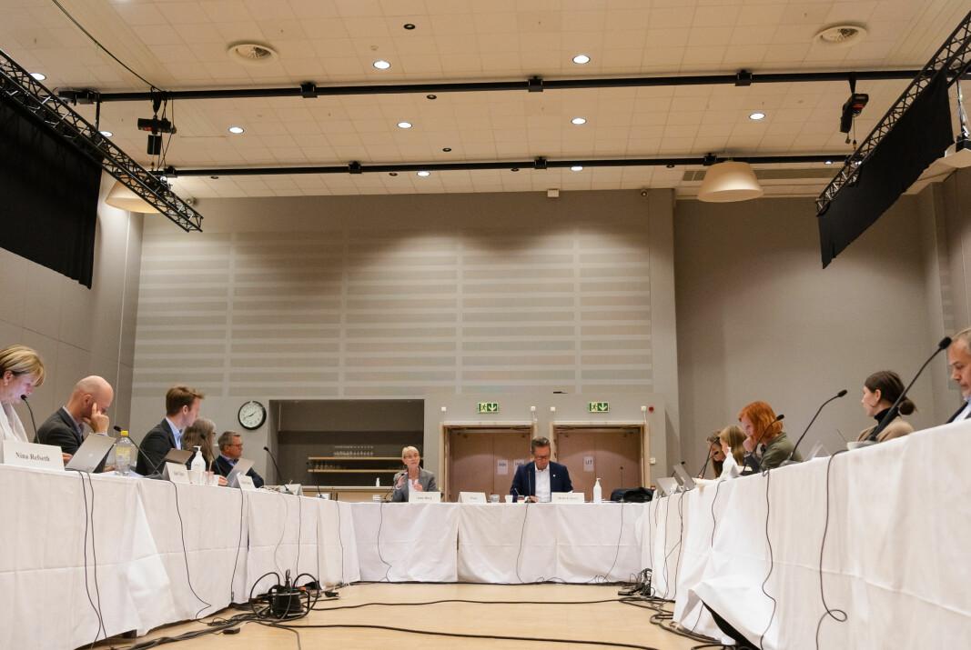 Her fra NTNUs styremøte 25. august, avholdt på Scandic Lerkendal