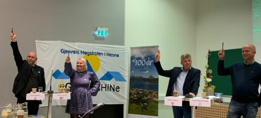 Seks parti lovar å røysta for høgskule på Nesna