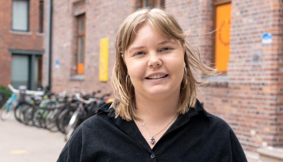 Sara Krugerud Berntzen ønsker et regjeringsskifte.