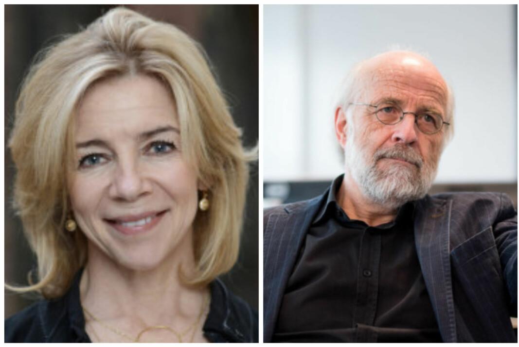 Konstituert rektor ved OsloMet, Niina Waler og rektor ved USN, Petter Aasen, er bekymret for at den nye forskriften innfører en ny type universitet.
