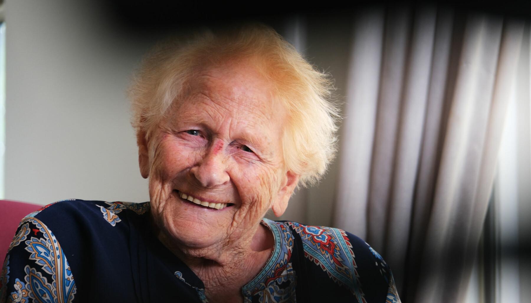 Annie Middelburg har bodd ved hjemmet i elleve år.