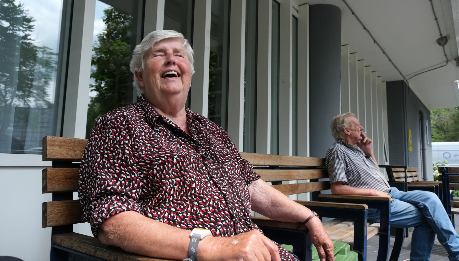 Reine Pontstein er fornøyd med å ha studentene som nabo.