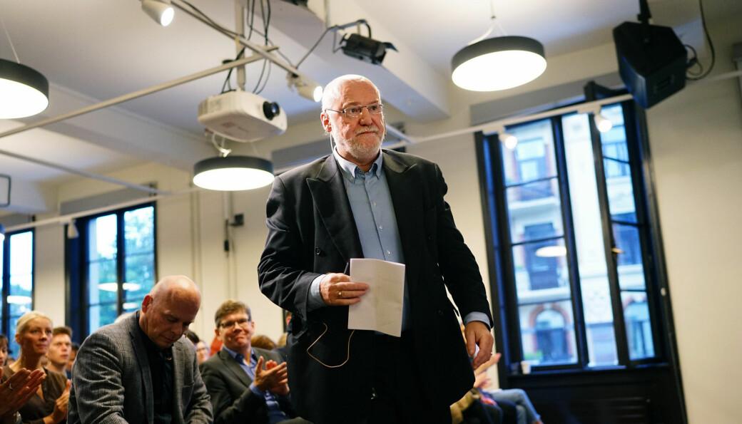 Høyere utdanning stimulerer til politisk engasjement, mener professor emeritus i statsvitenskap Bernt Aardal, om det høye utdanningsnivået blant årets listetopper i stortingsvalget..