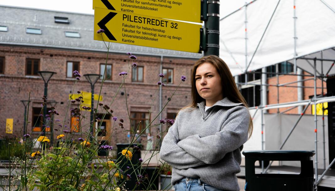 Sofie Martesdatter Granberg, journalistikkstudent ved OsloMet og journalist i Universitas..