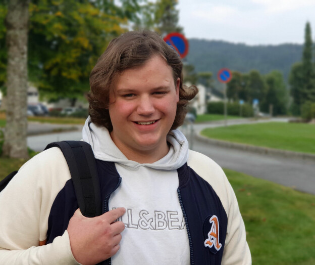 Herman (20): — Et svært dannende steg i livet