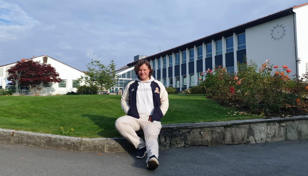 Herman Snilsberg har akkurat tatt fatt på livet som student ved Høgskulen på Vestlandet på Stord.