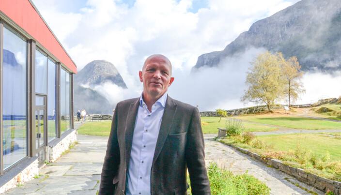 Rektor Gunnar Yttri ved Høgskulen på Vestlandet er glad for at flercampus-institusjonene får oppmerksomhet.