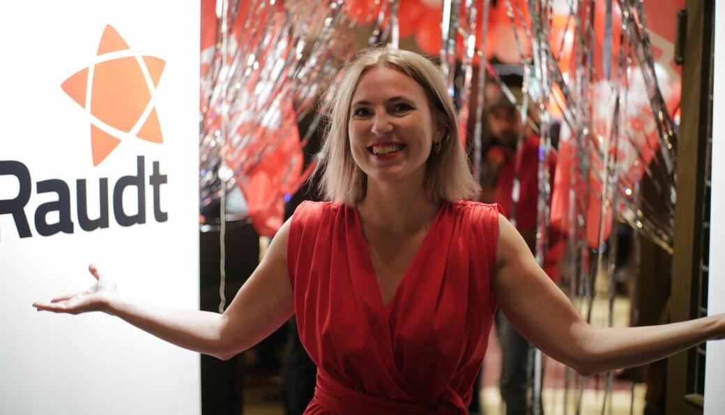 Sofie Marhaug kom inn på Stortinget fra Hordaland og blir en av åtte Rødt-representanter på Stortinget neste fire år.