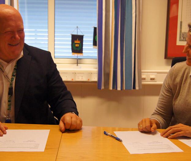 Høgskolen i Innlandet har signert avtale med Heimevernet