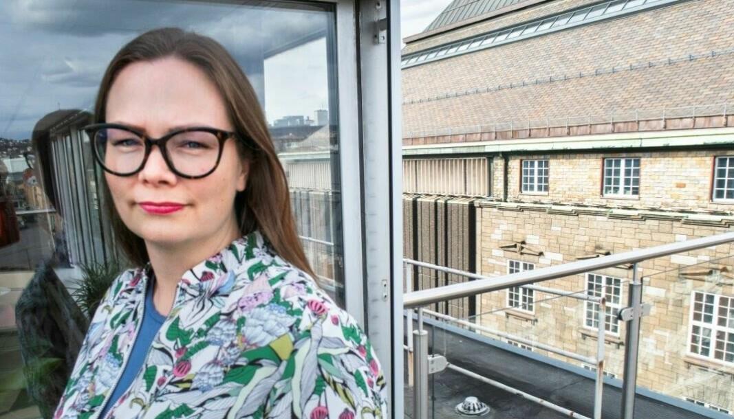 Norsk sykepleierforbund med nestleder Silje Naustvik i spissen, ber Arbeidstilsynet se på arbeidssituasjonen for ansatte ved landets sykepleierutdanninger.
