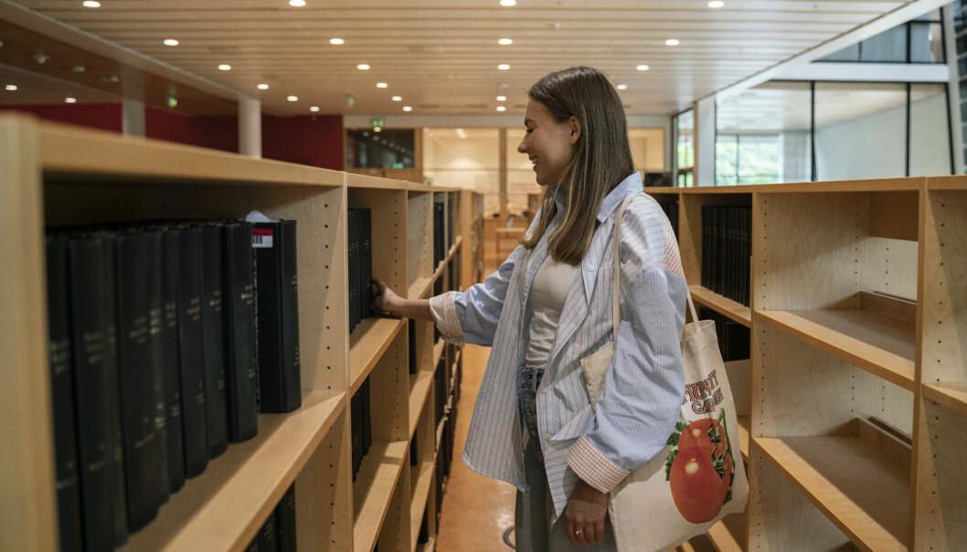 Som honoursstudent skal Astrid Utheim Aune ta 30 ekstra studiepoeng i løpet av den treårige bachelorgraden i statsvitenskap.