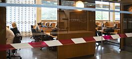Avstandsregler gir stor rift om lesesalsplasser i Oslo. Masterstudenter fortviler