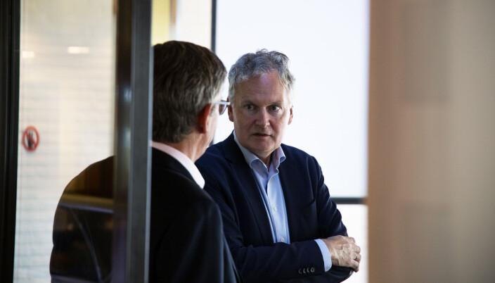 — Vi skal ivareta det personalansvaret vi har og arbeidssituasjonen hos oss skal være god, sier universitetsdirektør Arne Benjaminsen.