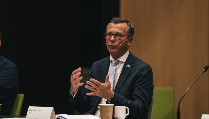 Rektor Dag Rune Olsen, UiT