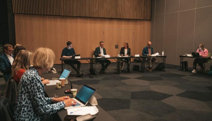 Det nye styret ved UiT fikk regnskapstall på bordet på sitt første møte 21. september.