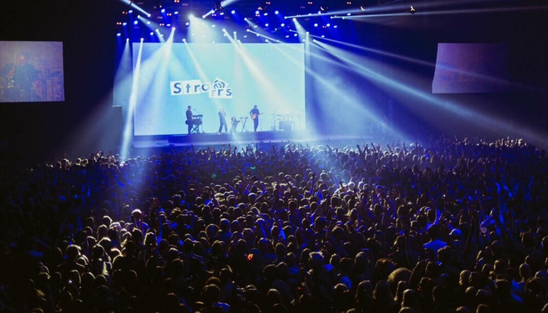 Sånn kan konsertene igjen se ut. Her fra en konsert under UKA-19 i Trondheim.