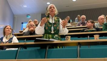 Tidligere rektor ved Nesna, Arna Meisfjord, har stått på i kampen for høgskolen på Nesna.