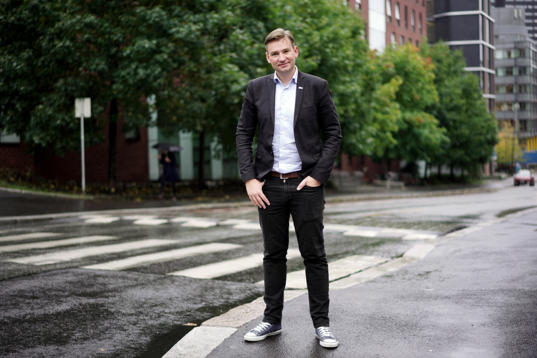 Høyres nye kronprins, som han ble beskrevet i et intervju i Kapital, og studentenes «Party-Henke» takker snart for seg.