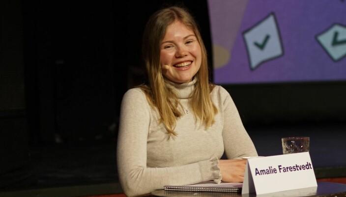 Studentdemokratiet ved NTNU tar det lave engasjementet veldig seriøst, sier Amalie Farestvedt.