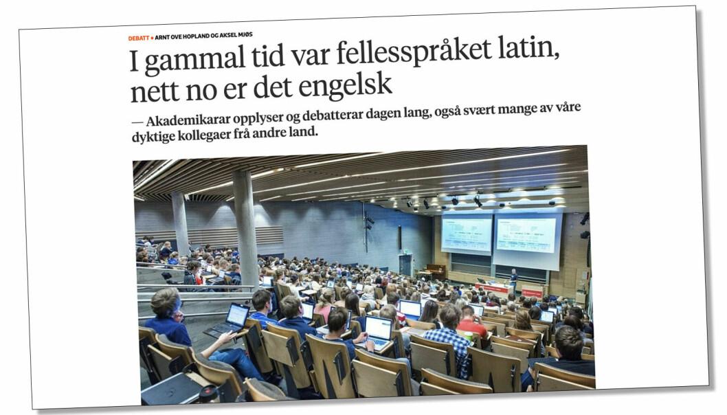 Førstelektor i kunsthistorie (UiB), Jørgen Lund, svarer på Arnt Ove Hopland (NHH) og Aksel Mjøs (NHH) sitt tilsvar til universitetslektor Roar Ulvestad (UiB).