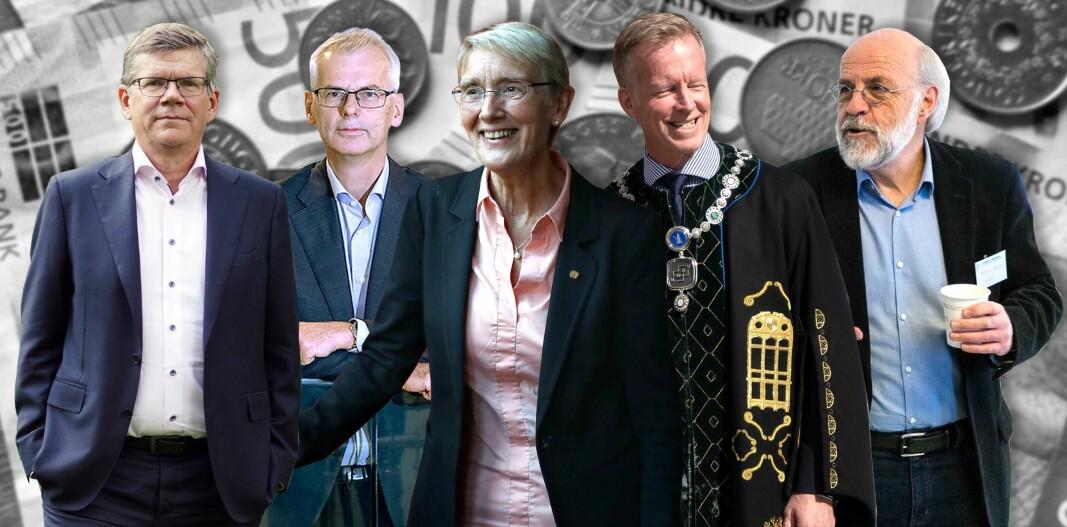 Rektorlønninger: Over 700.000 kroner skiller topp og bunn