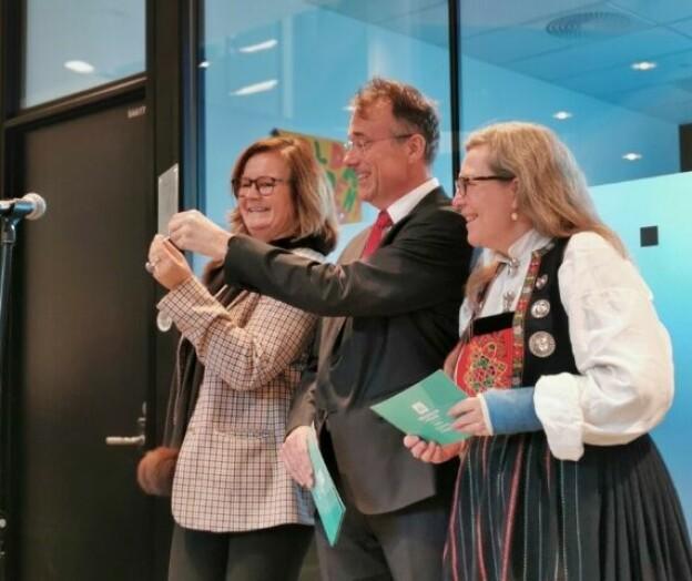 Opna «verdas finaste mediehus» i Volda