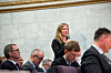 Rektor på NMBU, Mari Sundli Tveit, vil diskutere framtiden for norske universiteter og høgskoler. Foto: Skjalg Bøhmer Vold