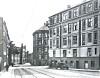 Fasaden til Frydenlund bryggeri, som nå er campus Pilestredet. Foto: Wilse/Oslo museum