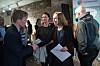 Forsknings- og høyere utdanningsminister Iselin Nybø på framleggingen av Studiebarometeret 2017. Foto: Ketil Blom Haugstulen