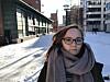 Leder for studentrådet på Institutt for sykepleie og helsefremmende arbeid ved OsloMet, Jeanett Andersen, synes studentene kan bli bedre til å engasjere seg.